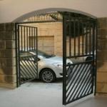 Modern Gate open